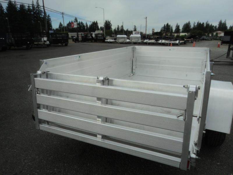 "2020 Aluma 4.5X8 w/24"" Side Kit and Bi-Fold Gate"