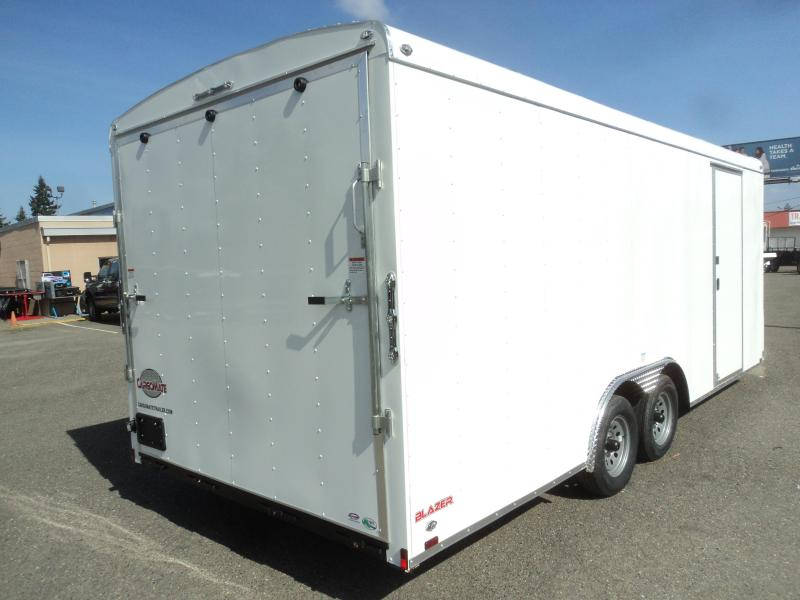 2020 Cargo Mate Blazer 8.5X20 7K w/4ft Wedge/Extra Height/d-Rings
