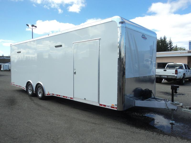 2020 Cargo Mate Aluminum 8.5x28 12K Race Trailer