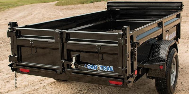 2020 Load Trail 5X8 5K w/Tarp kIt/Rapid Charger
