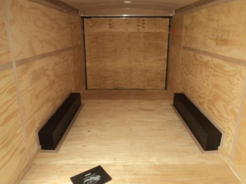 2020 Cargo Mate Blazer 8.5x20 7K  w/Extra Height/Matte Black Package/Ramp