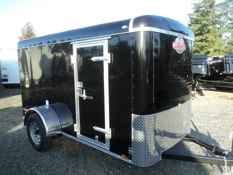 "2020 Cargo Mate 5x10 Blazer with 6"" Additional Height/Rear Ramp Door"