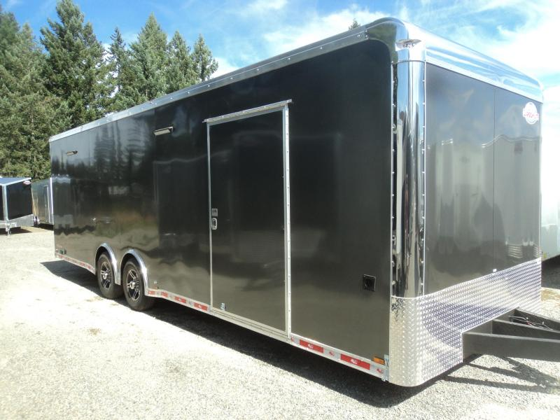 2020 Cargo Mate Eliminator 8.5x28 12K Race Trailer