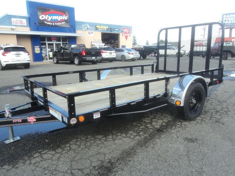 2020 PJ Trailers 6.5X12 with Fold-In Gate