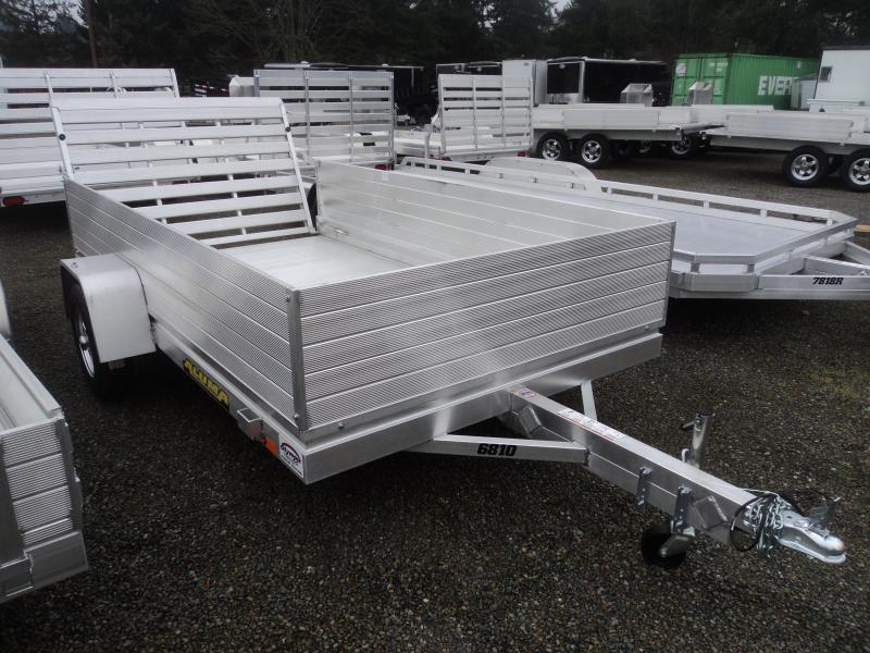2020 Aluma 6810 Utility Trailer