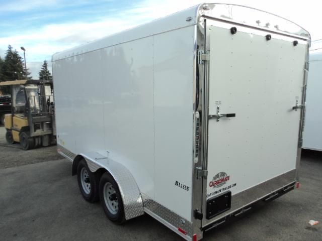 2020 Cargo Mate Blazer 7X14 7K w/Ramp and Appearance Package