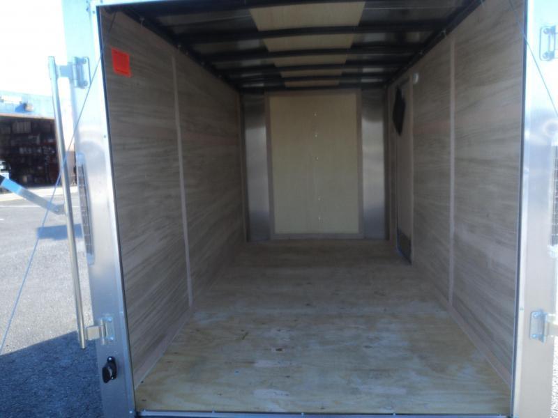 """2021 Cargo Mate Challenger 6x12 w/6"""" Extra Height & Rear Ramp Door"""