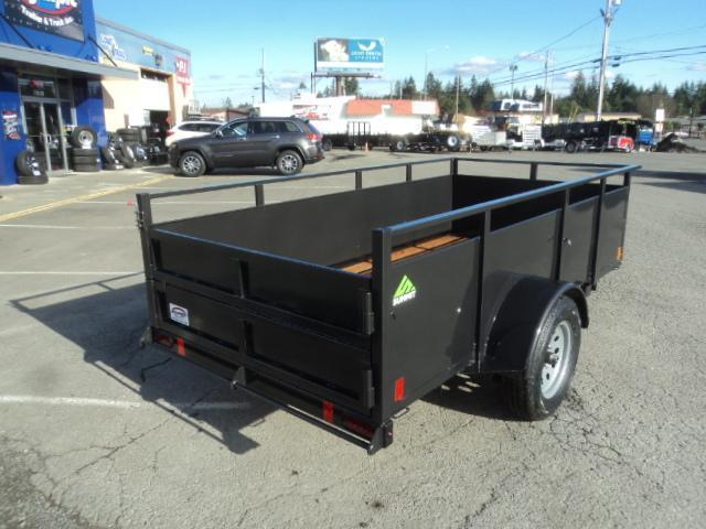 2020 Summit Alpine 5X10 Single Axle W/Split Ramp Utility Trailer