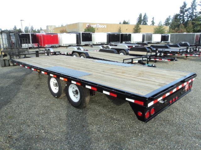 "2020 PJ 8X20 8"" I-Beam Deckover (F8) Equipment Trailer"