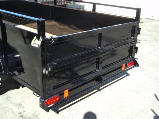 2020 Summit Alpine 5X8 Single Axle W/Split Ramp Utility Trailer w/ Spare tire & mount