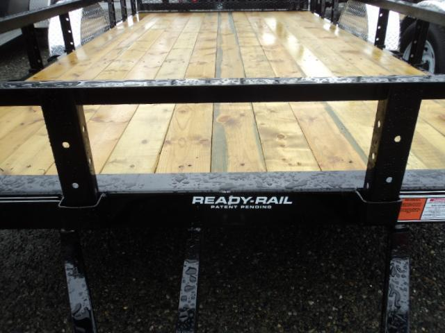 2020 PJ Trailers 6.5X14 Utility w/Side Mount ATV Ramps