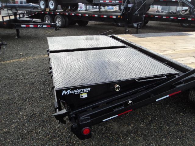 2020 PJ Trailer 8.5X22 14K Deckover w/Monster Ramps