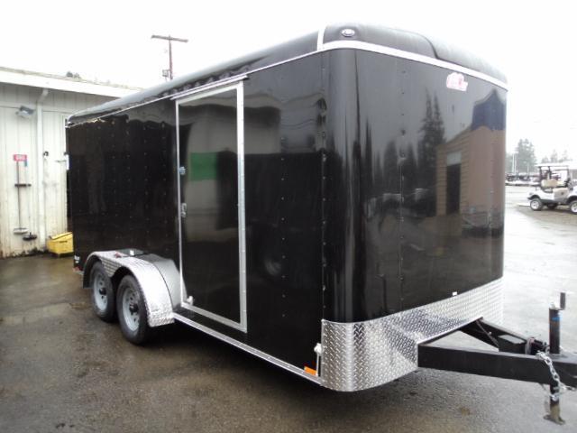 "2020 Cargo Mate Blazer 7X16 7K w/Rear Ramp Door/6"" Extra Height"
