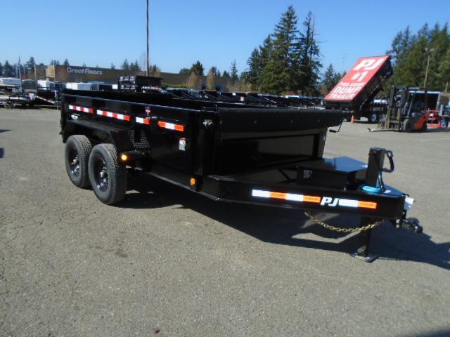 2020 PJ 7x12 14K Dump with 10K Jack/Tarp Kit