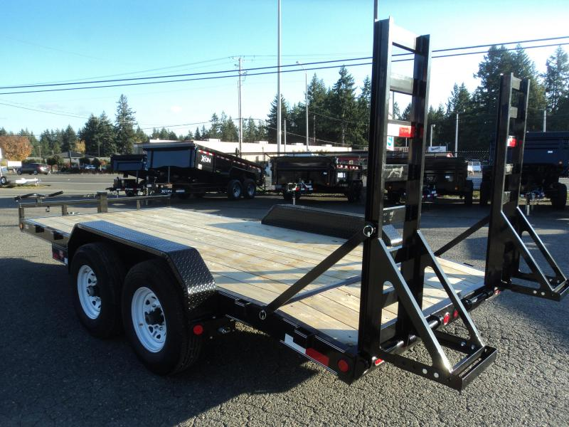 2020 PJ CC 7x16 14K w/Dovetail Equipment Trailer