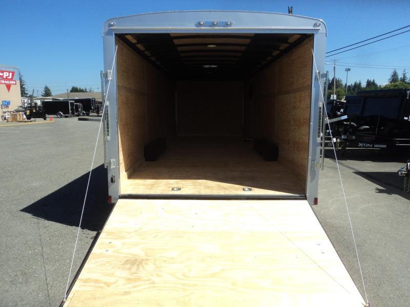 2020 Cargo Mate Blazer 8.5x24 10K w/Spare Tire/5K Tie Downs/Ramp Door