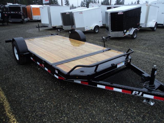 2020 PJ Trailers 16' Single Axle HD Tilt Trailer