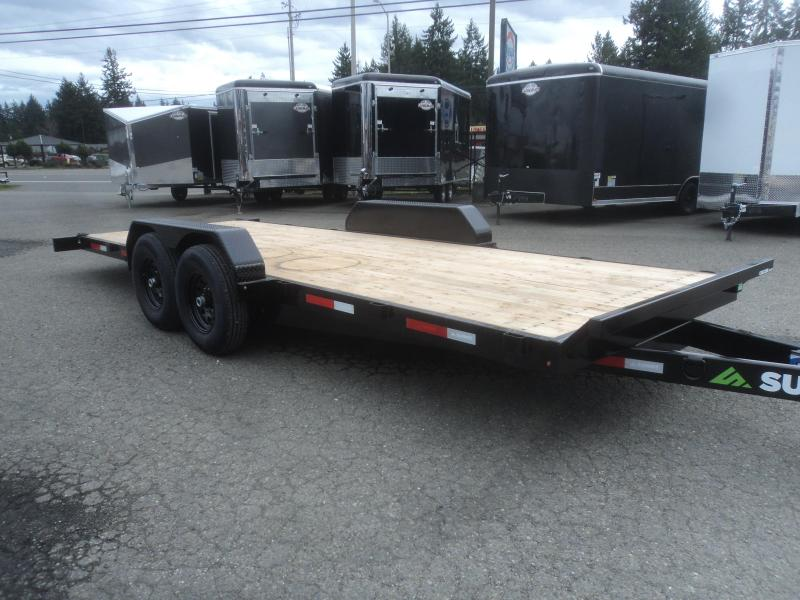 2020 Summit Cascade 7x20 14K Tiltbed Equipment Trailer