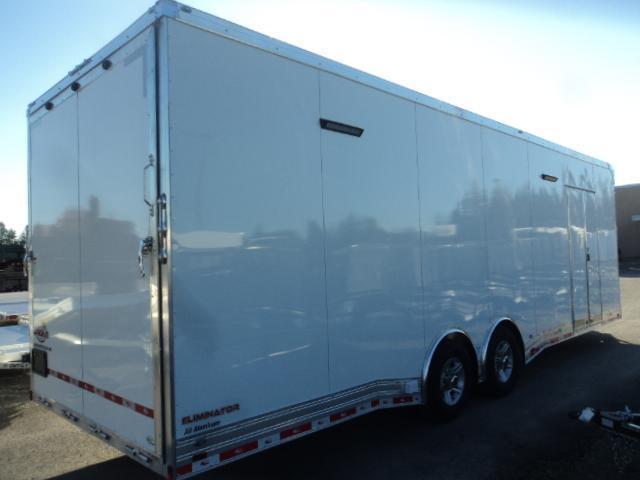 2020 Cargo Mate 8.5X28 12k Aluminum Race Trailer