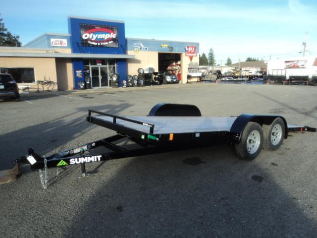 2020 Summit Alpine 7x16 7K Tilt Car / Racing Trailer