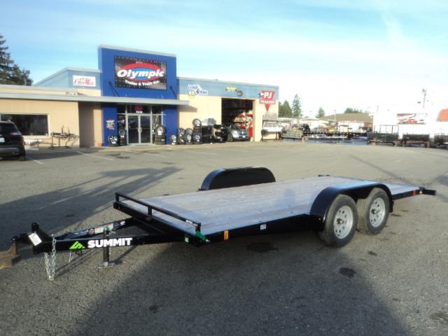 2020 Summit Alpine 7x16 7K Tilt Car / Racing Trailer