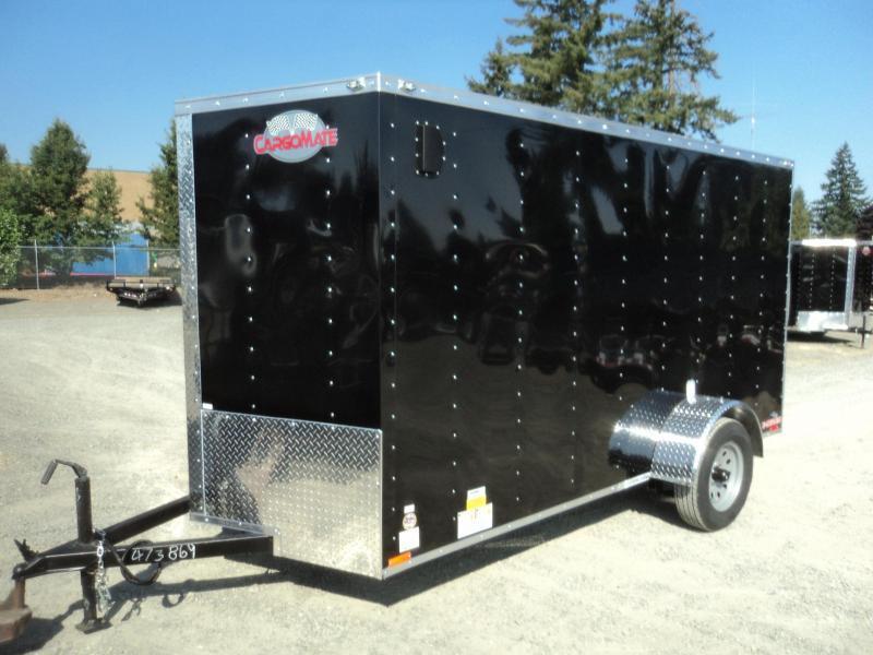 2020 Cargo Mate E-series 6X12 Wedge w/Rear Ramp Door