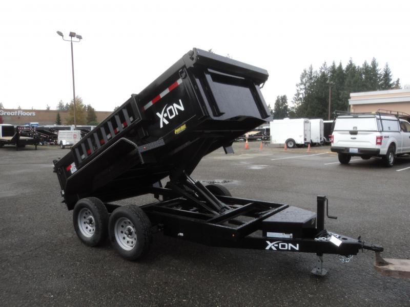 2020 X-On 5X10 7K Dump Trailer w/Tarp Kit/Ramps++