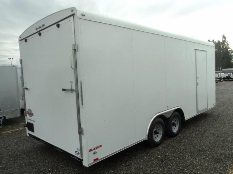 2020 Cargo Mate Blazer 8.5X20 7K w/Ramp Door