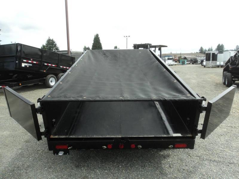 2020 PJ 6x12 10K Dump w/Tarp Kit and Ramps
