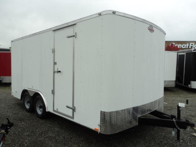 "2020 Cargo Mate Challenger 8.5x16 7K w/6"" Additional Height/Rear Cargo Doors"