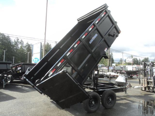2020 Load Trail 7X14 14K 4 Foot Sided Dump/Rapid Charger/Tarp Kit++