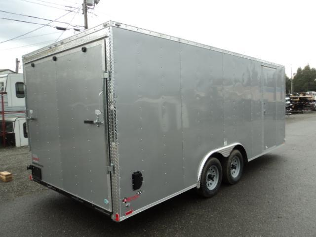 2020 Cargo Mate E-SERIES 8.5X20 7k w/Rear Ramp Door and D-Rings