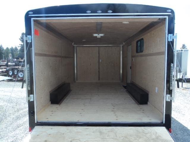 2020 Cargo Mate Blazer 8x16 7K w/110 Volt Package/Window/ and Ramp Door