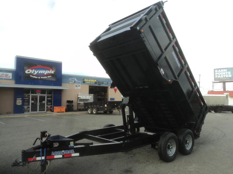 2020 Load Trail 7X14 14K High Sided 14K Dump w/Tarp Kit/10k Jack