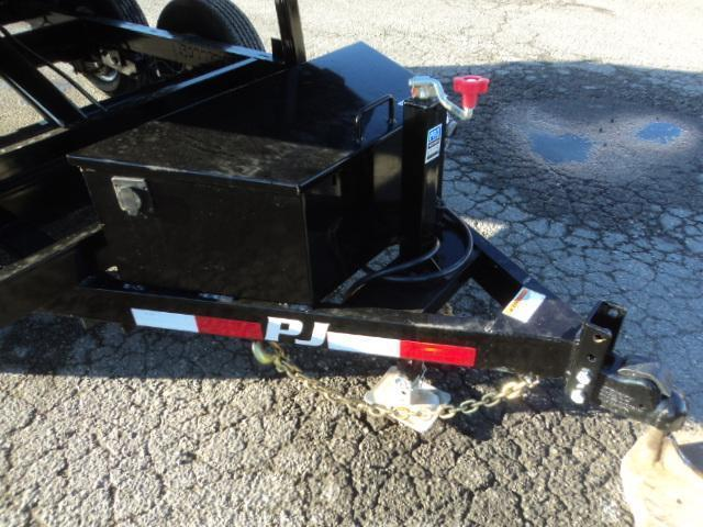 2020 PJ Trailers 5x10 10K With Spreader gate & Tarp Kit Dump Trailer