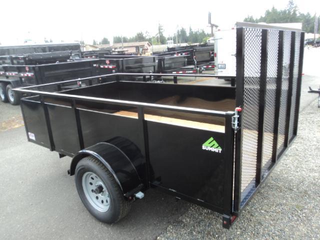 2020 Summit Alpine 6x12 Single Axle Utility Trailer w/ Spare tire & mount