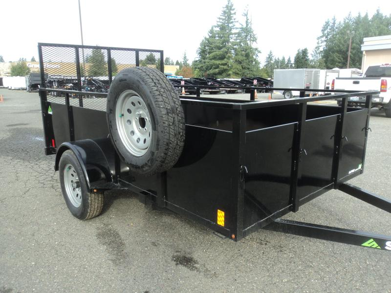 2020 Summit Alpine 6x12 Single Axle Utility Trailer w/ Spare tire & mount