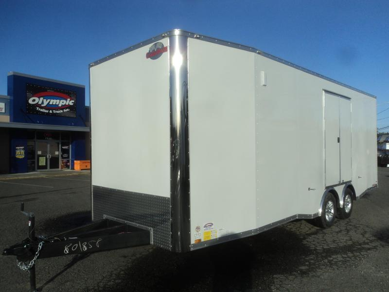 "2020 Cargo Mate 8.5X24 10K E-series with 12"" Extra Height/Cabinets+++"