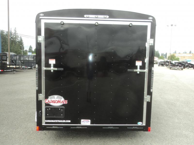 2020 Cargo Mate Blazer 7X12 7K With Rear Ramp Door