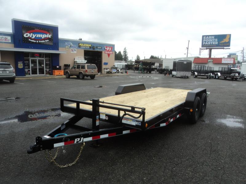 "2020 PJ CC 7X16 14k 6"" Channel Equipment Trailer"