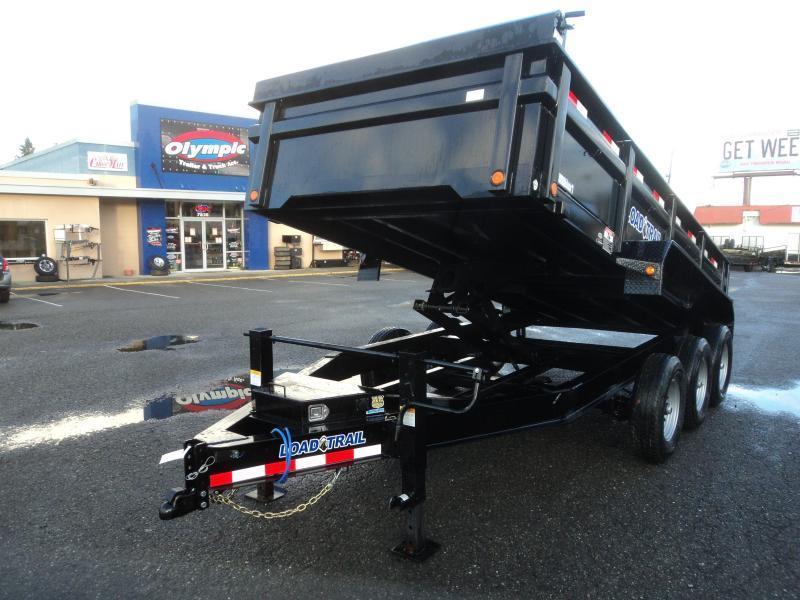2020 Load Trail 7X16 21K Dump With Scissor Lift/Tarp Kit/Ramp[s