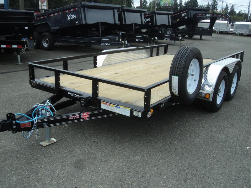 2020 PJ 6.5X14 7K w/Spare Tire and Mount