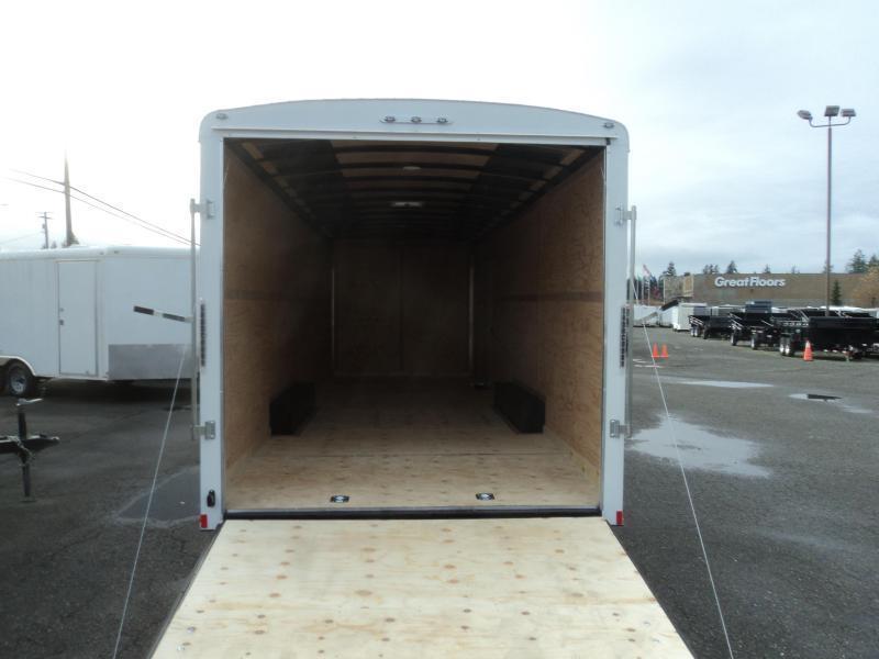 2020 Cargo Mate Blazer 8.5X24 7K w/Rear Ramp Door/D-Rings
