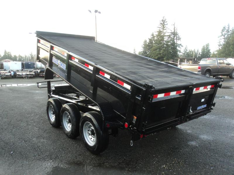 2020 Load Trail 7X16 21K Dump With Scissor Lift/Tarp Kit/Ramp[s