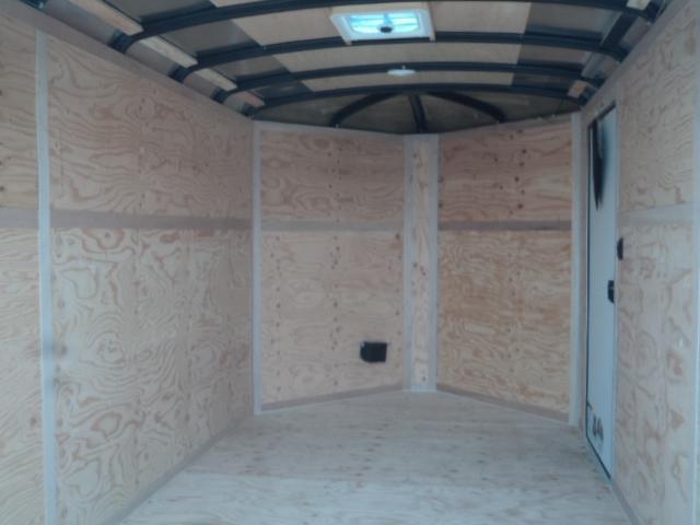 2020 Cargo Mate Blazer 7X12 7K w/3ft Wedge/Extra Height/Ramp Door