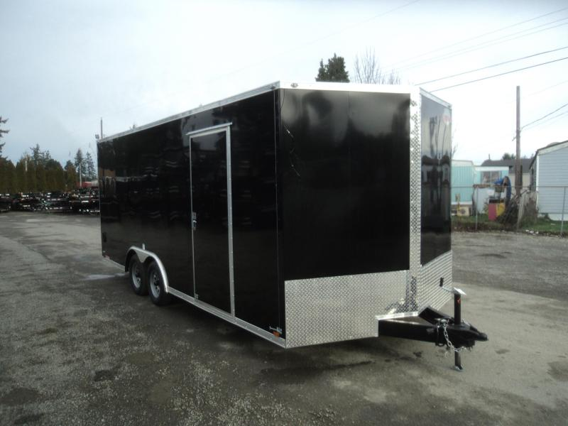 2020 Cargo Mate E-SERIES 8.5X20 7K w/Screwless Exterior/Ramp/Extra Height
