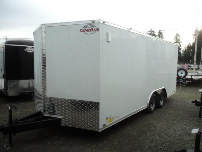 2020 Cargo Mate E-Series 8.5X18 7K w/Ramp Door