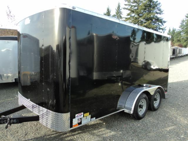 2021 Cargo Mate Challenger 7X14 7K w/Rear Cargo Doors