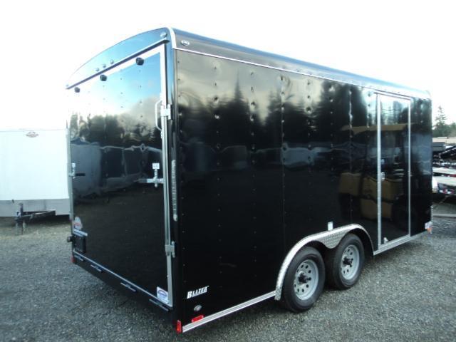 2020 Cargo Mate Blazer 8.5x16 7K w/Rear Ramp Door