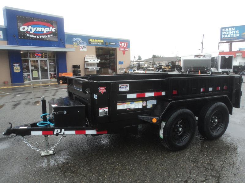 2020 PJ 5x10 7K Dump w/Load Ramps